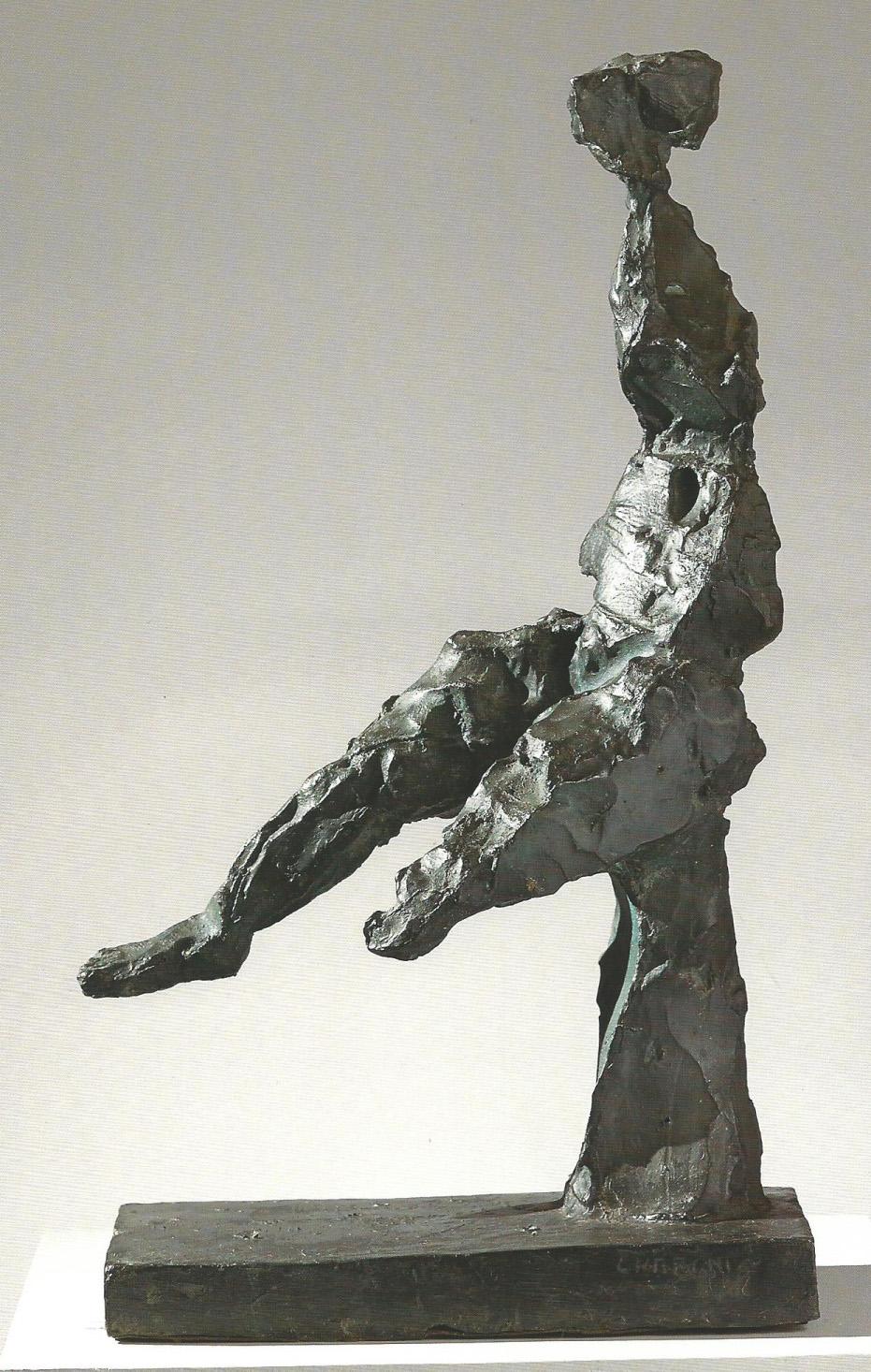 Sandro Cherchi Figura seduta, 1962 bronzo 64 × 36 × 22 cm